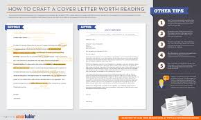 how to create a cover letter for a resume infographic how to craft a cover letter worth reading careerbuilder here is our infographic on cover letters and how to make one that is eye catching to a hiring manager