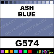 blue ash color ash blue artists gouache paints g574 ash blue paint ash blue