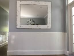large mirror hallway reclaimed timber mirror purchased from