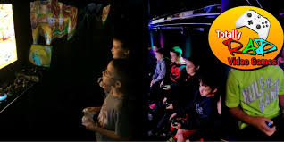 Chequered Flag Marina Del Rey Los Angeles Video Game Truck And Laser Tag Birthday Parties