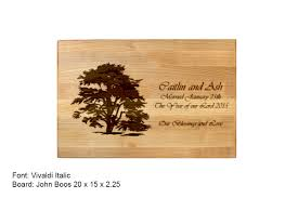 personalized wedding cutting board custom cutting board cuttingboard