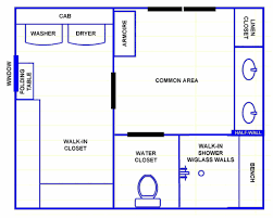 Floor Plans Creator Master Bathroom Layout And Floor Plans Design With Walk In Closet