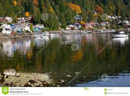 deep cover download deep cove harbor vancouver bc canada stock image image of nature