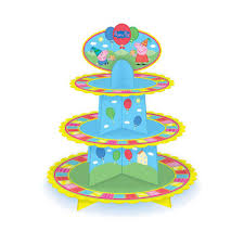 peppa pig party supplies peppa pig party supplies cupcake 3 tier stand party supplies