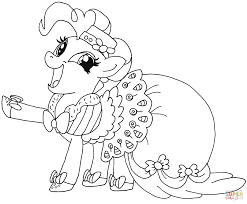 my little pony pinkie pie coloring page free printable coloring