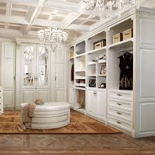 yg21436 traditional solid wood walk in closet