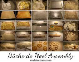 buche de noel assembly for our lemon yule log cake or any jelly