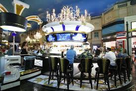 Paris Las Vegas Interior Renovated Le Central Casino Bar At Paris Las Vegas Is A Stunner