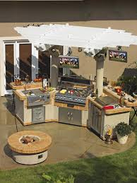 kitchen television ideas pictures of outdoor kitchens gas grills cook centers islands