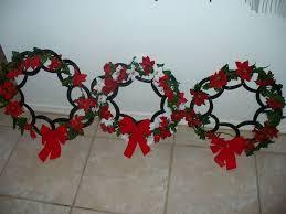 horseshoe wreath horseshoe christmas wreath 33 best shoes images on