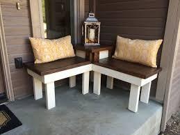 diy corner bench with built in table hometalk
