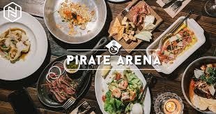cuisine pirate สวมบทโจรสล ด แล วออกไปล าความสน กท pirate arena