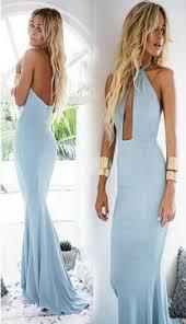 blue halter maxi dress