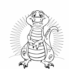dinosaur t rex free printable coloring pages babies and