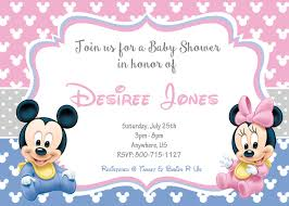 baby mickey baby shower baby minnie baby mickey baby shower invitations