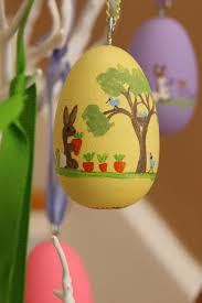 custom easter eggs painted personalized wooden easter egg ornaments coffey