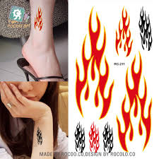 tattoo on the finger price 2pcs the new waterproof tattoo stickers color eyebrow cute icon