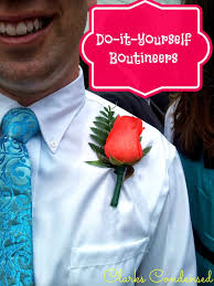 boutineer cost diy boutineers for weddings prom and other formal occasions
