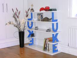furniture home tidy books display bookcase for kids storage white