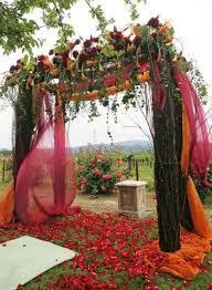 wedding backdrop 16 beautiful fall wedding backdrops to get inspired weddingomania