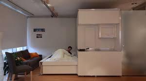 chambre modulable appartement du futur modulable avec contrôle vocal gestuel en vidéo