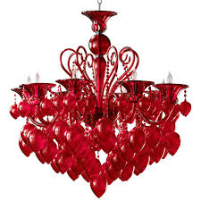 Red Chandelier by Great Red Crystal Chandelier 1000 Ideas About Red Chandelier On