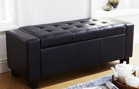 Storage Ottoman Bench Ikea by Bench Impressive Diy Foot Of Bed Storage Bench Riveting Foot Of