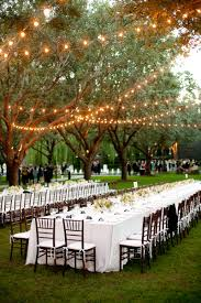 garden wedding reception decoration ideas wedding centerpieces estate tables