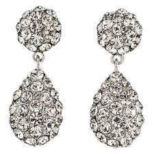 jim earrings jim earrings pv113 clear silver swarovski