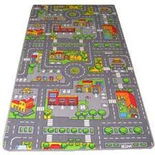 kids road map rugs large playmat childrens cars rugs boys girls