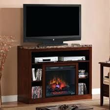 Corner Tv Stands With Electric Fireplace by Tv Stand Adams Electric Fireplace Tv Stand In Empire Cherry