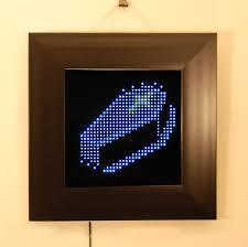 halloween party pixel led art