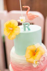 Tropical Theme Birthday Cake - kara u0027s party ideas tropical flamingo themed birthday party