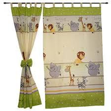 kinderzimmer vorh nge 2er set gardinen kinderzimmer vorhänge mit schlaufen und schleifen