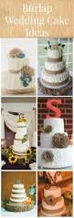 best 25 burlap wedding cakes ideas on pinterest rustic wedding