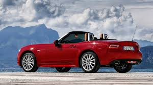 fiat roadster fiat 124 spider 2016 review by car magazine