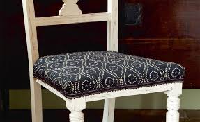 How To Reupholster A Dining Chair - Reupholstered dining room chairs