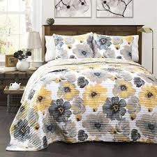 full queen quilt set bedspreads teenage girls eye popping flowers