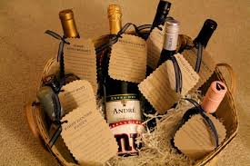 creative bridal shower gift ideas for the bridal shower gift idea wine basket with poems