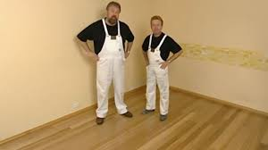 Installing Laminate Flooring On Concrete Installing Hardwood Floors On Concrete Youtube
