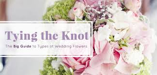 wedding flowers guide tying the knot the big guide to types of wedding flowers kremp