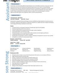 Resume Template For Manager Position Download Resume For Manager Position Haadyaooverbayresort Com