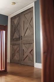 Unique Closet Doors Wooden Barn Door Unique Handmade Interior Rustic Doors Wooden