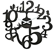 100 simple wall clock buy modern black wall clock online purely