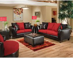 Living Room Table Ls Riverstone Victory Cardinal Microfiber Living Room Set From