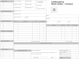 How To Price Landscaping Jobs by Example Image Landscaping Work Order Form Small Business Owner