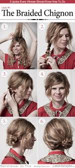 easiest type of diy hair braiding 15 stylish buns for your long hair chignons smooth hair and updos