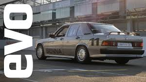 senna u0027s mercedes 190e race car inside evo youtube