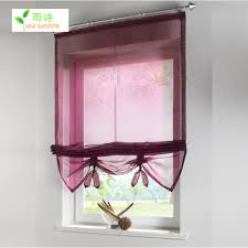 shades window curtain roman blinds solid sheer curtains for