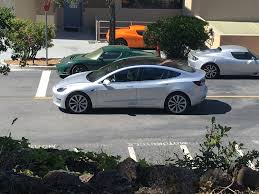 several hd photos u0026 video of the silver model 3 release candidate